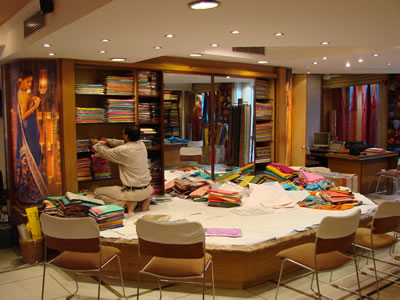 Umang Sarees ~~ Our Showroom